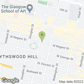 Map of Platinum Payment Services Ltd in Glasgow, lanarkshire