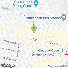 Map of Crocodile Web Design Glasgow in Glasgow, lanarkshire