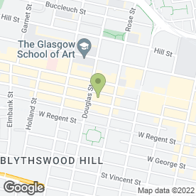 Map of Lyon & Turnbull in Glasgow, lanarkshire