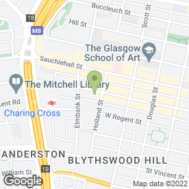 Map of Dunbar Bank plc in Glasgow, lanarkshire