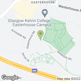 Map of Man with a Van Glasgow Hire in Glasgow, lanarkshire