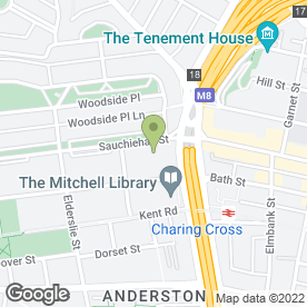 Map of Servicepoint UK Ltd in Glasgow, lanarkshire