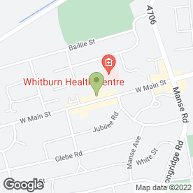 Map of The Nail Salon in Whitburn, Bathgate, west lothian