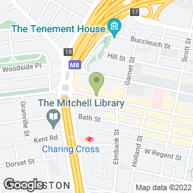 Map of O'Neills in Glasgow, lanarkshire
