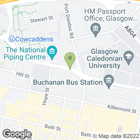 Map of Pattison Designs in Glasgow, lanarkshire