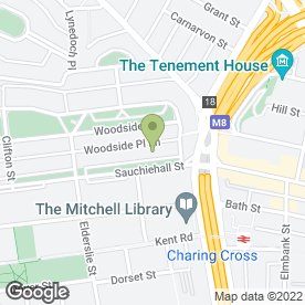 Map of Graham & Sibbald in Glasgow, lanarkshire