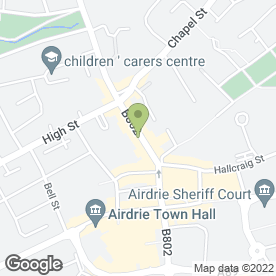 Map of Aztec Tradesmen Ltd in Airdrie, lanarkshire