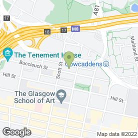 Map of Professional Carpet Cleaning in Glasgow, lanarkshire