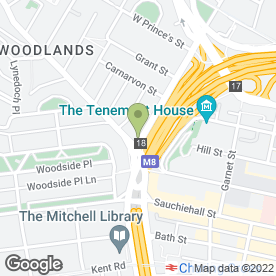 Map of A S Electrics in Glasgow, lanarkshire