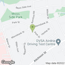 Map of Carpet & Laminate Floor Fitter in Airdrie, lanarkshire