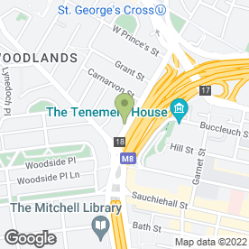 Map of Flooring Services in Glasgow, lanarkshire