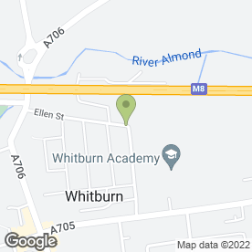 Map of Jim Johnstone Security in Whitburn, Bathgate, west lothian