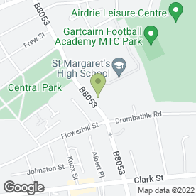 Map of Fairhome Property Ltd in Airdrie, lanarkshire