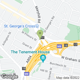 Map of HARVEST CLINIC in Glasgow, lanarkshire