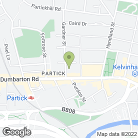 Map of Doctors Surgery in GLASGOW, lanarkshire
