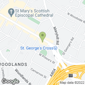Map of Clive Christian Scotland Ltd in Glasgow, lanarkshire