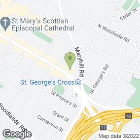 Map of Ashley Ann Ltd in Glasgow, lanarkshire