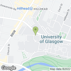 Map of Naval Establishments in Glasgow, lanarkshire