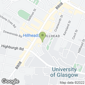 Map of Ubiquitous Chip Ltd in Glasgow, lanarkshire