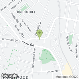 Map of Caruth Jordanhill Ltd in Broomhill, Glasgow, lanarkshire