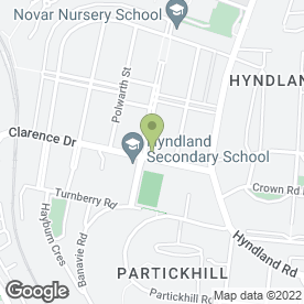 Map of Coia Hairdressing in Hyndland, Glasgow, lanarkshire