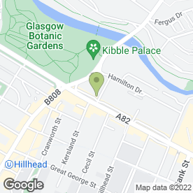 Map of Buckingham Clinic in Glasgow, lanarkshire