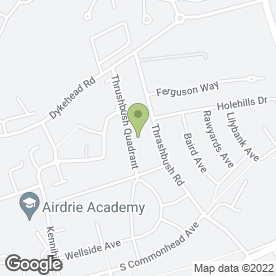 Map of Dream Driveways in Airdrie, lanarkshire
