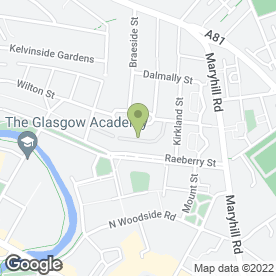 Map of S & J Motors in Glasgow, lanarkshire