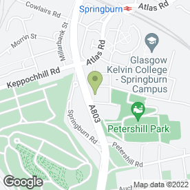Map of Enterprise Rent-A-Car in Glasgow, lanarkshire