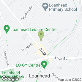 Map of Blue Waste Solutions in Loanhead, midlothian