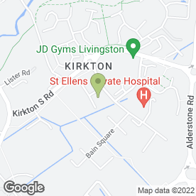 Map of Raptor Filmz Ltd in Livingston, west lothian