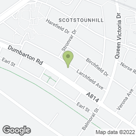 Map of Plasterer (Polish) in Glasgow, lanarkshire
