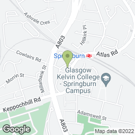 Map of Chakwal Tandoori in Glasgow, lanarkshire