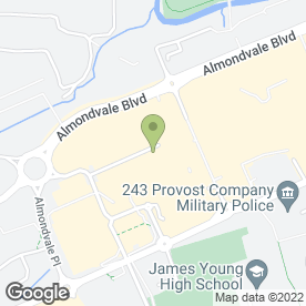 Map of Starbucks Coffee Co (UK) Ltd in Livingston, west lothian