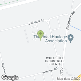 Map of Steve Walkers Bodyshop in Whitehill Industrial Estate, Bathgate, west lothian