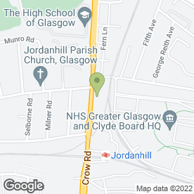Map of Legal Services Network Ltd in Glasgow, lanarkshire
