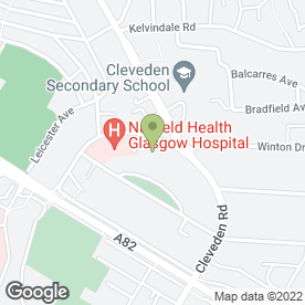Map of Darroch Hearing Clinics in Glasgow, lanarkshire