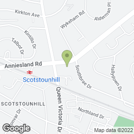 Map of JORDANHILL HOUSE in Jordanhill, Glasgow, lanarkshire