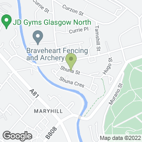 Map of HM Decorators in Glasgow, lanarkshire