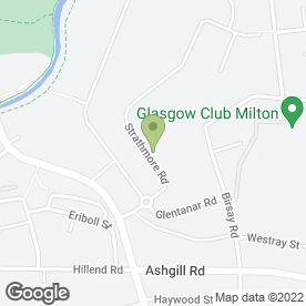 Map of Alexander Blinds & Furniture Ltd in Glasgow, lanarkshire