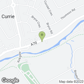 Map of CIRCLE SECURITY in Currie, midlothian