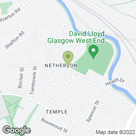 Map of Netherton Nursery in Glasgow, lanarkshire
