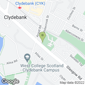 Map of J C Roxburgh (Financial Services) Ltd T/A Roxburgh Group in Clydebank, dunbartonshire