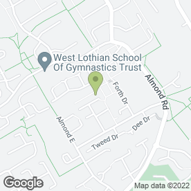 Map of SMS Scrap Metals Services Ltd in Livingston, west lothian