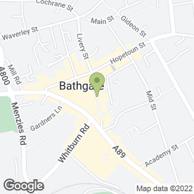 Map of Colours Beauty Salon in Bathgate, West Lothian, west lothian