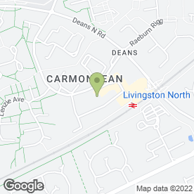Map of LASERBRITE in LIVINGSTON, west lothian