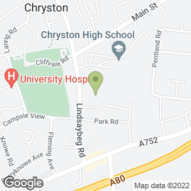 Map of Blitz Group Ltd in Chryston Business Park, Glasgow, lanarkshire