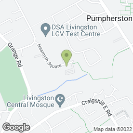 Map of PUMPMASTERS LTD in Livingston, west lothian