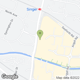 Map of Greggs in Clydebank, dunbartonshire