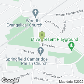 Map of Building Services in Bishopbriggs, Glasgow, lanarkshire